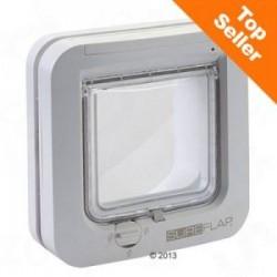 SureFlap Microchip Kattenluik – Adapter voor montage in glas wit