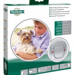 Petsafe Honden- en Kattenluik 270 4-standen Transparant