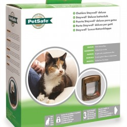 Petsafe Kattenluik 320 Handmatig Houtnerf